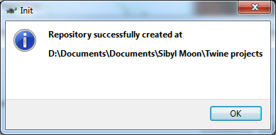 repository successfully created